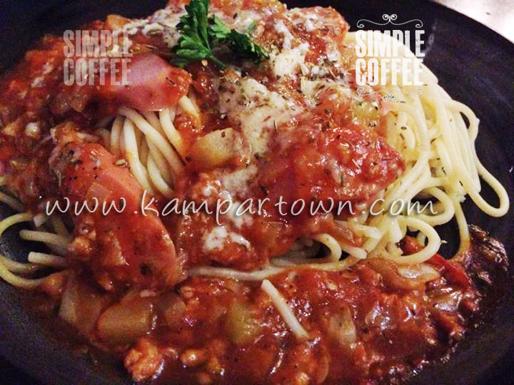 Pasta Spaghetti Simple Coffee Cafe Kampar