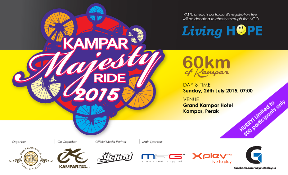 Kampar Majesty Ride 2015