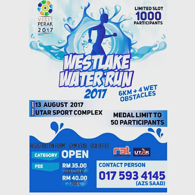 Kampar Westlake Water Run 2017