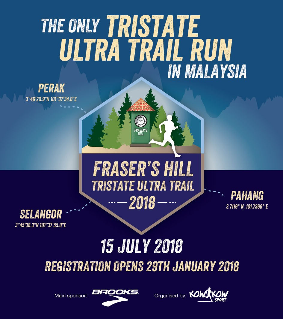 Frasers Hill Tristate Ultra Trail 2018